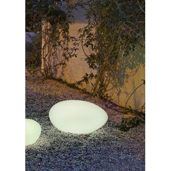 NEW GARDEN lampa ogrodowa PETRA 60 biała - LED