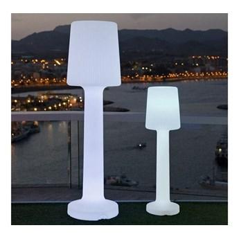 NEW GARDEN lampa ogrodowa CARMEN 110 B biała - LED, wbudowana bateria