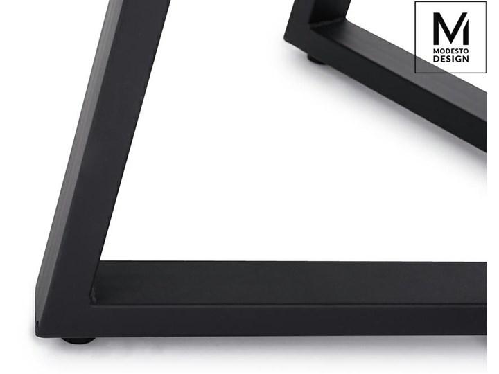 MODESTO stół TAVOLO FI 80 dąb - blat MDF, podstawa metalowa Drewno Płyta MDF Kategoria Stoły kuchenne
