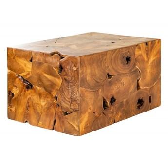 INVICTA stolik kawowy SQUARE 90 cm - drewno tekowe