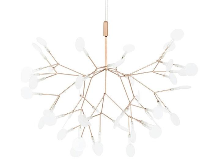 Lampa wisząca FLORA 50 miedziana - LED, metal Lampa inspirowana Stal Styl Nowoczesny