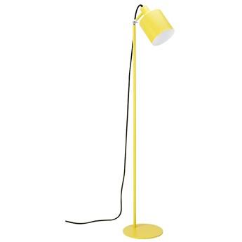 Lampa podłogowa LEKTOR żółta - aluminium