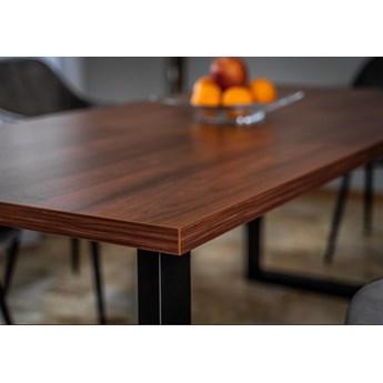 Stół rozkładany do jadalni FIORD 160/260x90 Ciemny orzech