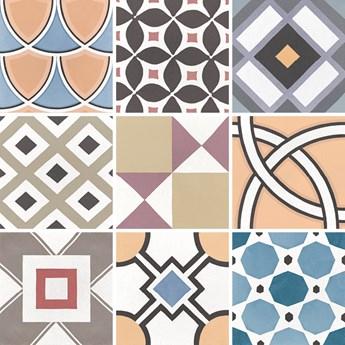 Caprice Deco Patchwork Colours 20x20 płytka patchworkowa