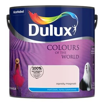 Farba lateksowa Dulux Kolory Świata Ogrody Magnolii 2,5 l Dulux