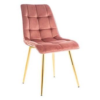 CHIC Krzesło różowe 47x41x87 cm - Homla