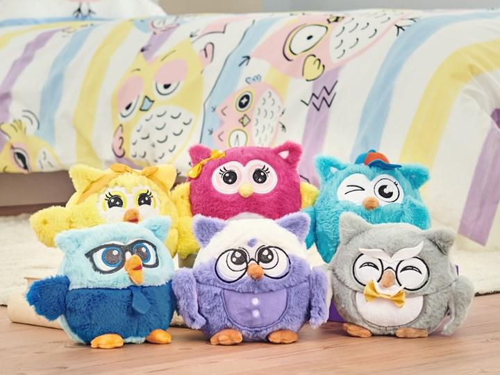 Maskotka Emotion Mini Owl Family