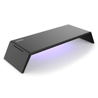 Podstawka pod laptopa lub monitor z dezynfekującą lampą UVC  czarny