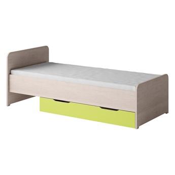 TN14 łóżko 90x200 TENUS santana / limonka