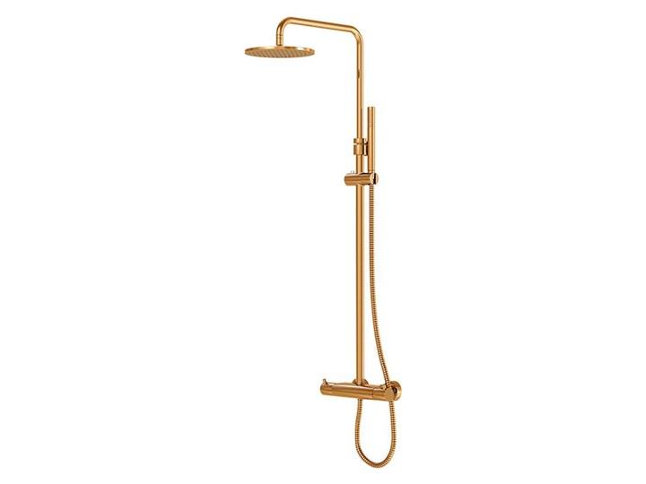 Kolumna prysznicowa Steinberg Seria 100 2721, termostat, kolory, Różowe złoto Wyposażenie Z uchwytem Wyposażenie Z termostatem