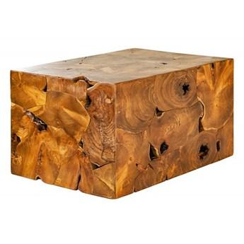 Stolik kawowy z kwadratowym blatem - Lisara 4X