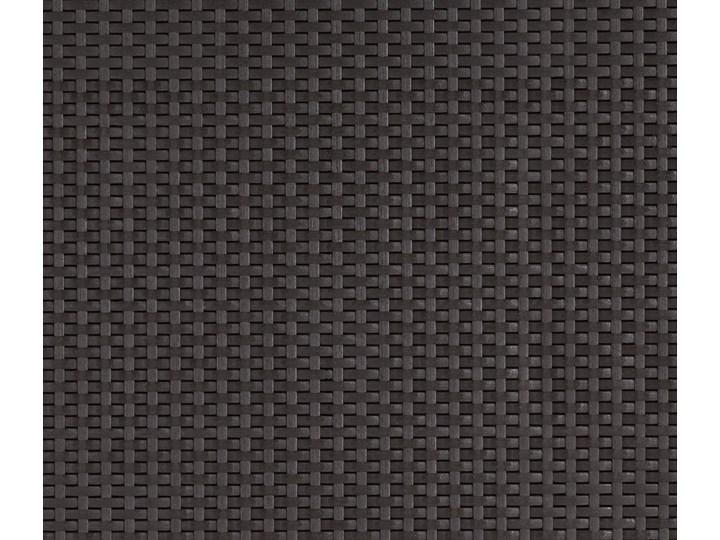 Meblobranie Brązowy zestaw na taras z fotelem Provence Zestawy wypoczynkowe Zestawy modułowe Styl Nowoczesny Tworzywo sztuczne Zestawy kawowe Rattan Zawartość zestawu Narożnik