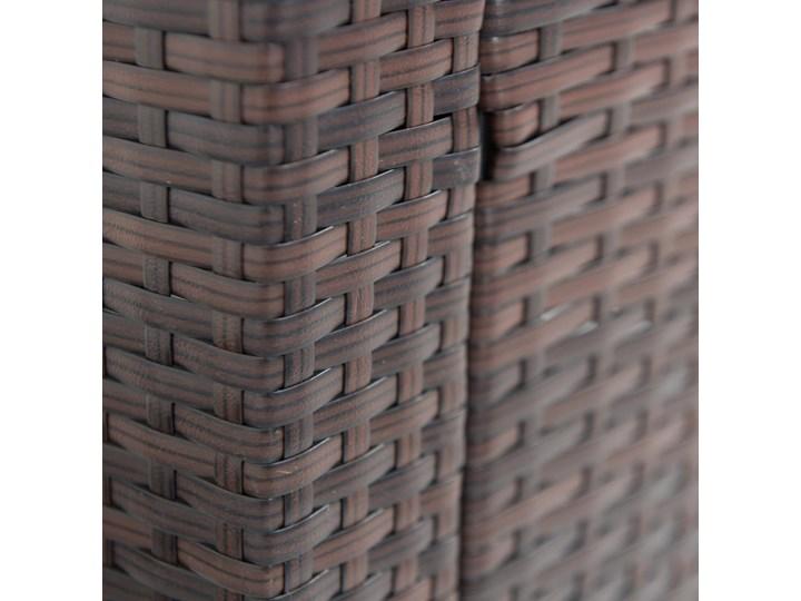 Meblobranie Komplet brązowych mebli technorattanowych Topiano Medio Zestawy wypoczynkowe Kategoria Zestawy mebli ogrodowych Zestawy obiadowe Zawartość zestawu Stół