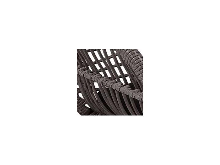 Meblobranie Szary zestaw rattanowy na balkon Torgiano Set Technorattan Stoły z krzesłami Zawartość zestawu Stolik