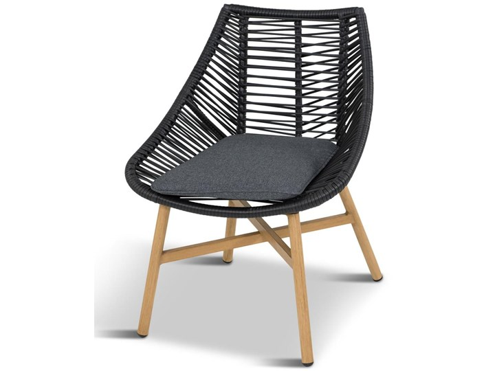 Komplet mebli Meblobranie z okrągłym stołem technorattan Almera Dining Black Aluminium Zawartość zestawu Krzesła Zestawy obiadowe Stoły z krzesłami Kategoria Zestawy mebli ogrodowych