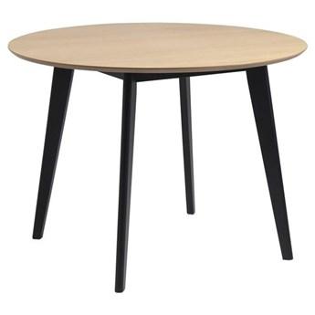 Actona Meblobranie Roxby okrągły stolik do kuchni 105cm dąb