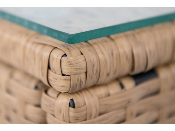 Meblobranie Komplet balkonowy z poduszkami Flavio Duo Yellow Kategoria Zestawy mebli ogrodowych Technorattan Rattan Zestawy kawowe Zawartość zestawu Stolik