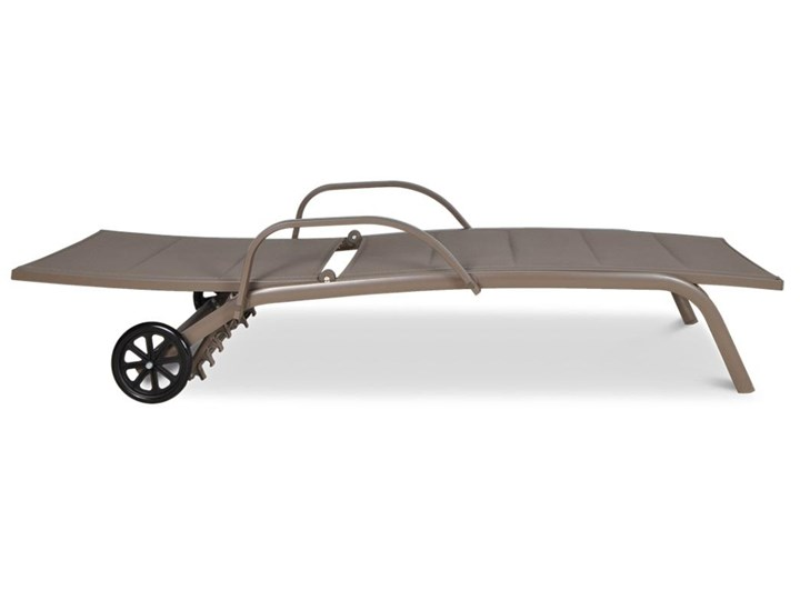 Meblobranie Beżowy leżak ogrodowy do opalania Majorka Aluminium Kategoria Leżaki ogrodowe Leżanki Styl Nowoczesny