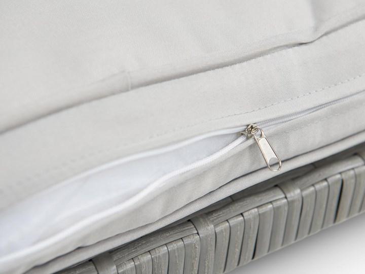 Meblobranie Duży zestaw narożny na taras z technorattanu Topiano Plus Grey & Ivory Zestawy wypoczynkowe Zestawy obiadowe Zawartość zestawu Sofa