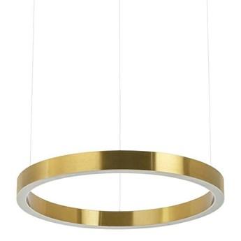 Złota lampa wisząca RING 40