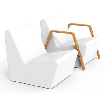 Podświetlany fotel na taras TARIDA SIT funkcja lampy
