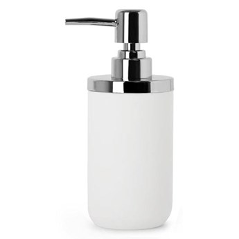 Dozownik do mydła, biały/chrom, JUNIP, Umbra
