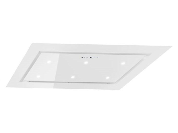 Okap sufitowy Mistral Super Slim White 96 cm Kolor Biały Sterowanie Elektroniczne