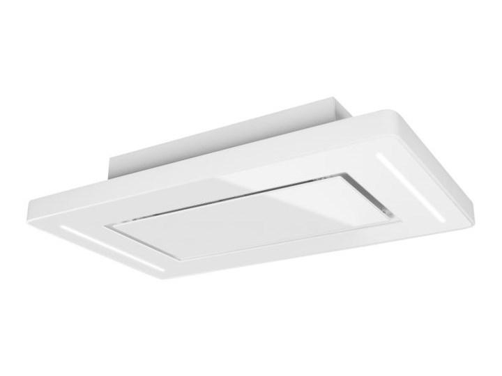 Okap sufitowy Decor CR FREE White 90 cm Kolor Biały Sterowanie Elektroniczne