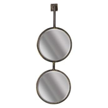 Podwójne okrągłe lustro ścienne BePureHome Chain, dł. 58 cm