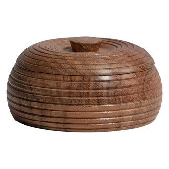 Naturalny pojemnik z drewna akacji BePureHome, 11x6 cm