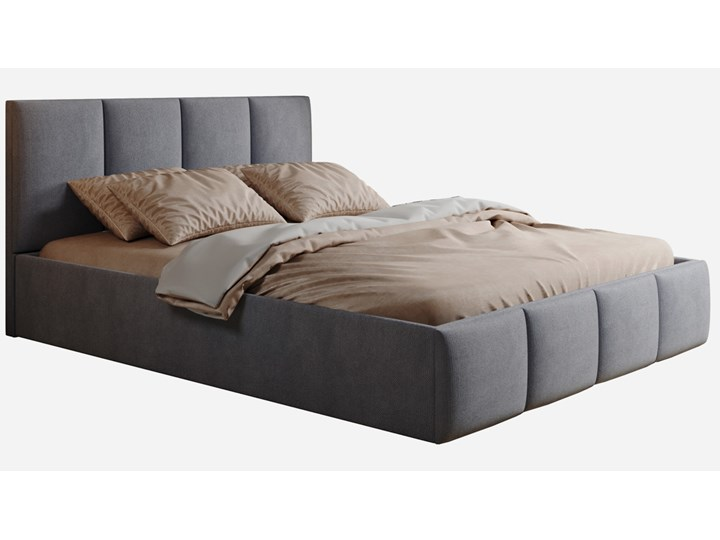 Łóżko tapicerowane GULIA 140cm + MATA KOKOSOWA