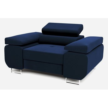Fotel do salonu BILI Granatowy