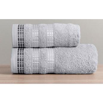 LUXURY Ręcznik, 70x140cm, kolor 539 szary LUXURY/RB0/539/070140/1