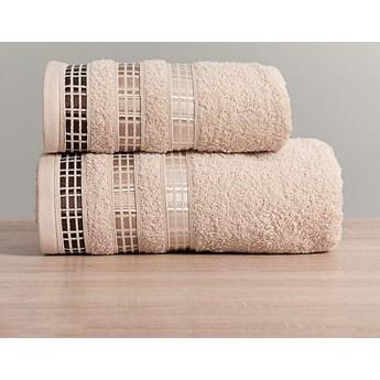 LUXURY Ręcznik, 70x140cm, kolor 790 beżowy LUXURY/RB0/790/070140/1