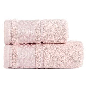 PAOLA Ręcznik, 70x140cm, kolor 019 pudrowy PAOLA0/RB0/019/070140/1