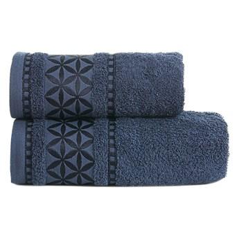 PAOLA Ręcznik, 70x140cm, kolor 038 granatowy PAOLA0/RB0/038/070140/1
