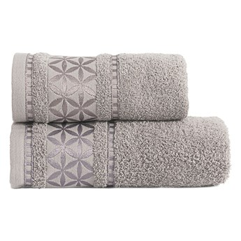 PAOLA Ręcznik, 70x140cm, kolor 328 szary PAOLA0/RB0/328/070140/1