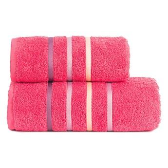 DOLCE Ręcznik, 70x140cm, kolor 937 różowy DOLCE0/RB0/937/070140/1