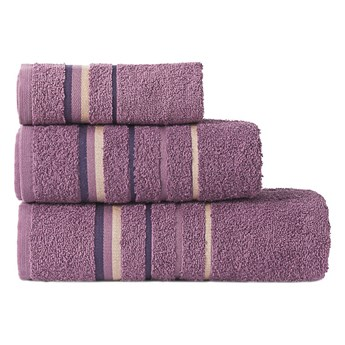 MARS Ręcznik, 70x140cm, kolor 296 fioletowy MARS00/RB0/296/070140/1