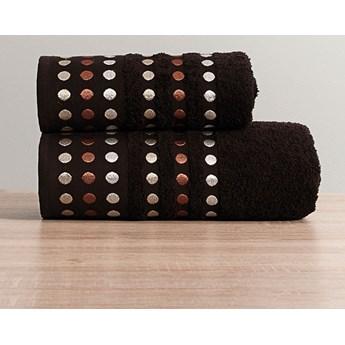 PUNTOS Ręcznik, 50x90cm, kolor 275 ciemny brązowy PUNTOS/RB0/275/050090/1