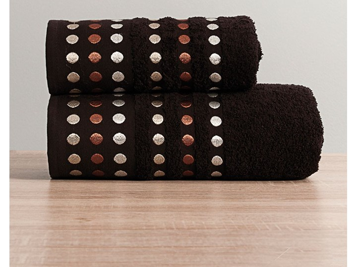 PUNTOS Ręcznik, 50x90cm, kolor 275 ciemny brązowy PUNTOS/RB0/275/050090/1 Frotte Bawełna 50x90 cm Kategoria Ręczniki