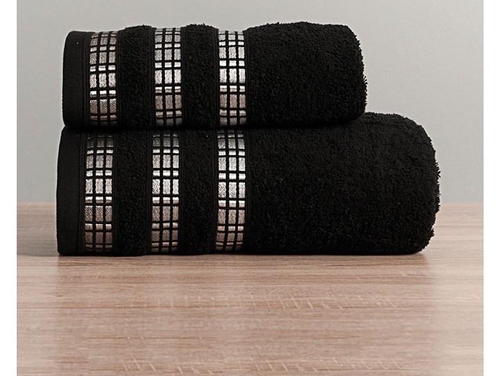 LUXURY Ręcznik, 50x90cm, kolor 156 czarny LUXURY/RB0/156/050090/1 Frotte 50x90 cm Bawełna Kategoria Ręczniki