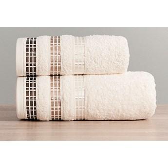 LUXURY Ręcznik, 50x90cm, kolor 783 kremowy LUXURY/RB0/783/050090/1