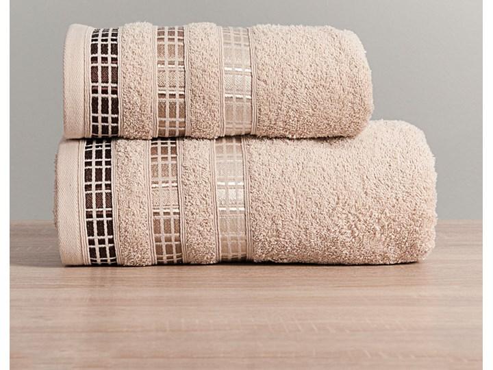 LUXURY Ręcznik, 50x90cm, kolor 790 beżowy LUXURY/RB0/790/050090/1 Bawełna 50x90 cm Frotte Kategoria Ręczniki