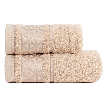 PAOLA Ręcznik, 50x90cm, kolor 509 beżowy PAOLA0/RB0/509/050090/1