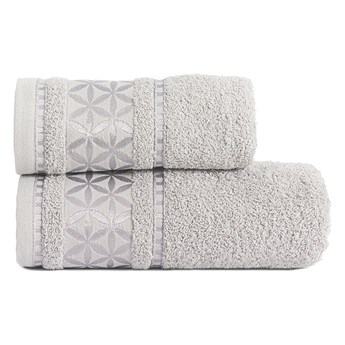 PAOLA Ręcznik, 50x90cm, kolor 712 srebrny PAOLA0/RB0/712/050090/1