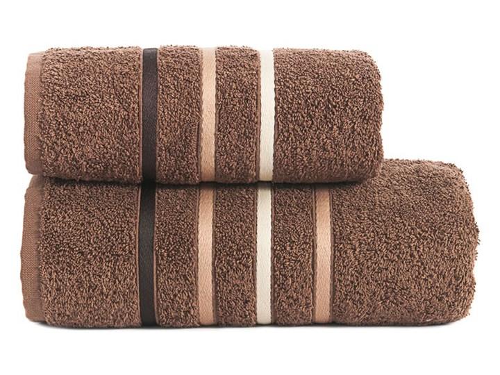 DOLCE Ręcznik, 50x90cm, kolor 082 brązowy DOLCE0/RB0/082/050090/1 50x90 cm Bawełna Frotte Kategoria Ręczniki