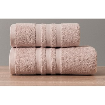 MODERN Ręcznik, 50x90cm, kolor 019 pudrowy MODERN/RB0/019/050090/1