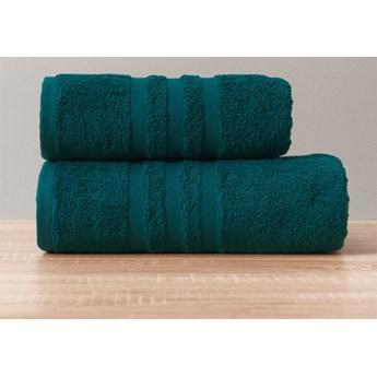 MODERN Ręcznik, 50x90cm, kolor 001 ciemno turkusowy petrol MODERN/RB0/001/050090/1