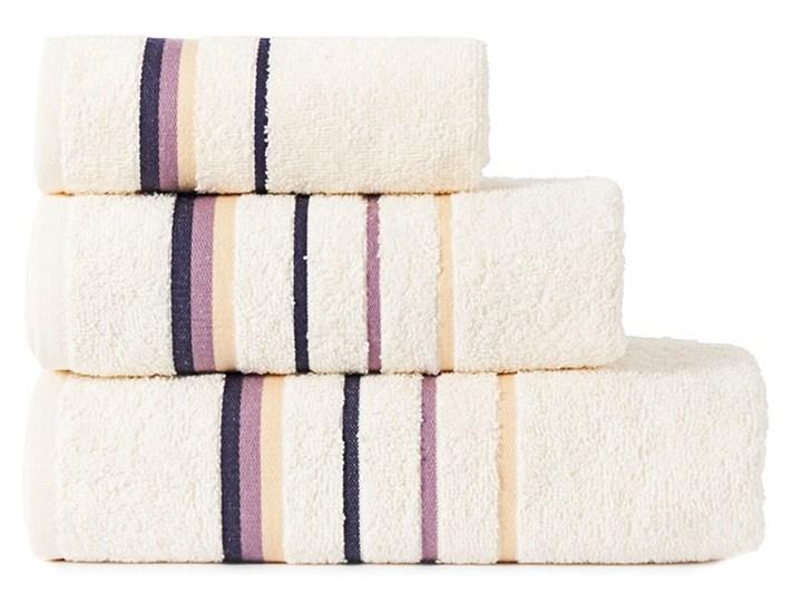 MARS Ręcznik z zawieszką, 30x50cm, kolor 235 kremowy MARS00/RB0/235/030050/1 Frotte Bawełna Kolor Beżowy 30x50 cm Kategoria Ręczniki